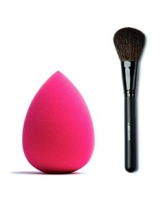 Combideal The Make-Up Blender Pink + The Brush Puderpinsel